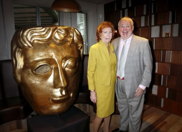 Cilla Black with Christopher Biggins