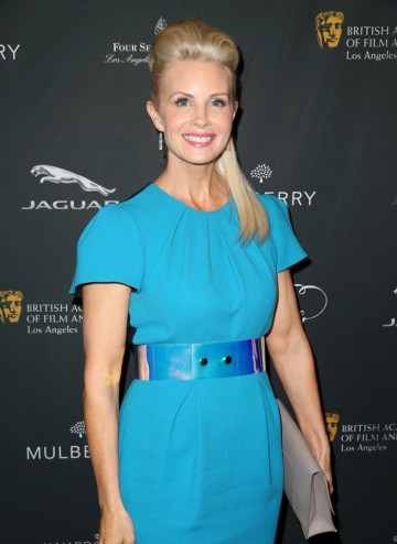 Monica Potter arriving at the BAFTA LA 2014 Awards Season Tea Party.