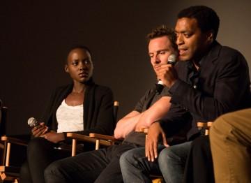 Lupita Nyongo'o, Michael Fassbender and Chiwetel Ejiofor
