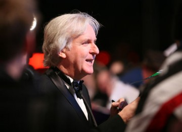 James Cameron arrives at the Royal Opera House hoping that box-office receipts will translate to BAFTA success in Avatar's eight nominated categories (BAFTA/Dave Dettman).