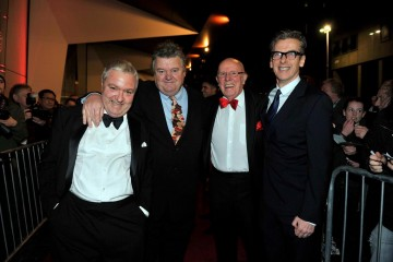 John Sessions, Robbie Coltrane, Richard Wilson and Peter Capaldi