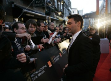 Ryan Seacrest, presenter of American Idol, flew in especially for the Awards (pic: BAFTA / Marc Hoberman).