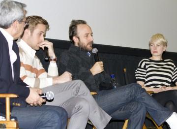 Ryan Gosling, Director Derek Cianfrance and Michelle Williams