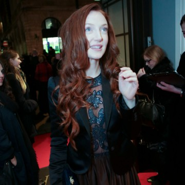 Olivia Grant arrives at BAFTA's headquarters on Piccadilly for the Gala