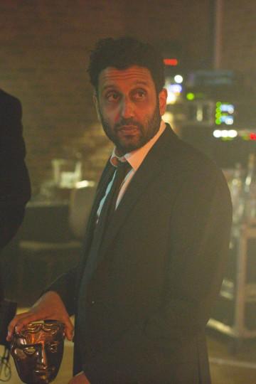 Adeel Akhtar awaits backstage