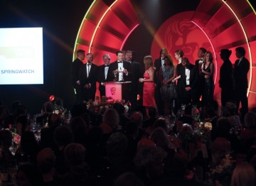 At the 2011 the Television Craft Awards the Academy honoured the team behind the BBC's much loved nature programme Springwatch. (Pic: BAFTA/Jamie Simonds)