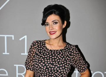 Kym Marsh who plays feisty Michelle Connor, poses for the camera. Pic: Steve Butler