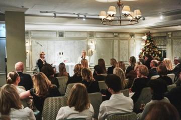 Academy Circle with Gillian Anderson, Fortnum & Mason,  November 2016  (Photo credit: BAFTA/Jonny Birch)