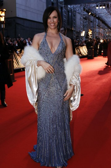 The Leading Actress nominee (for Little Miss Sunshine) arrived wearing Max Azria. (pic: BAFTA/Richard Kendal)