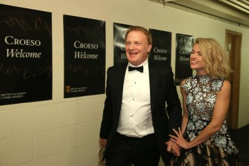 BAFTA Cymru Awards, Backstage, Cardiff, Wales, UK - 02 Oct 2016