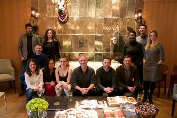 Breakthrough Brits lunch with Sam Mendes at the Rosewood, London