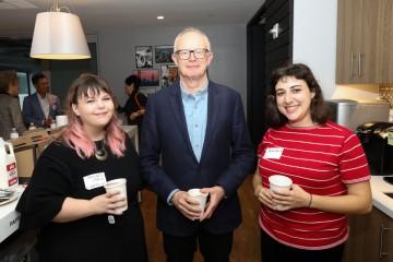 Rachel Main, Charles Tremayne and Jess Hock