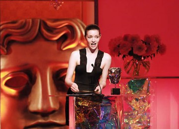 Talulah Riiley, star of St Trinian's and the forthcoming The Boat That Rocked, presented the Make-Up and Hair Design Award (pic: BAFTA / Richard Kendal).