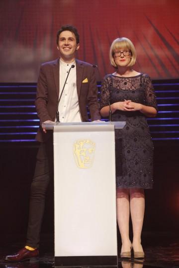 Bex & Sean present the Kids' Vote awards at the British Academy Children's Awards in 2014