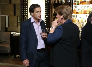 Clare talks with Patrick McGrath, MD of Villa Maria, BAFTA's official wine partner.
