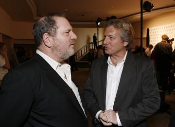 Harvey Weinstein and BAFTA Los Angeles Chairman Peter Morris
