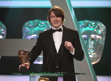 Eric and Ernie's Daniel Rigby wins an all-star category, beating Jim Broadbent, Matt Smith and Benedict Cumberbatch.