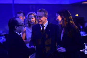 David Hayman, Sir Chris Hoy & Sarra Kemp