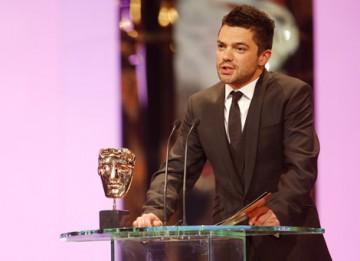 Mamma Mia! star Dominic Cooper presented the Animated Film category (BAFTA / Marc Hoberman).