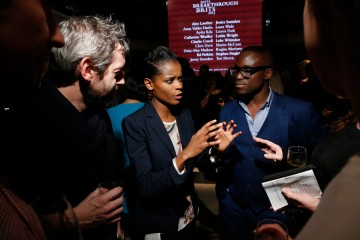 2015 Breakthrough Brit Letitia Wright at the announcement event