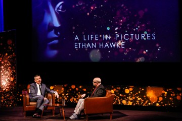 Ethan Hawke's A Life in Pictures event
