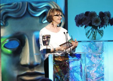 Broadcaster Joan Bakewell presented the Award for Director Factual (pic: BAFTA / Richard Kendal).