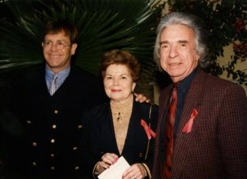 Elton John and Arthur Hiller