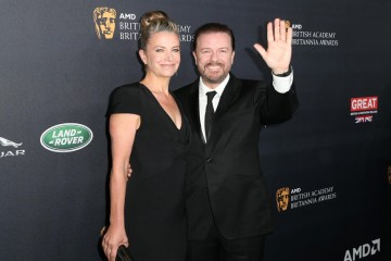 Ricky Gervais was honored with the Charlie Chaplin Award for Excellence in Comedy.