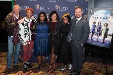 Kevin Costner, Pharrell Williams, Octavia Spencer, Taraji P. Henson, Janelle Monae, Ted Melfi