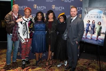 Kevin Costner, Pharrell Williams, Octavia Spencer, Taraji P. Henson, Janelle Monae, Ted Melfi