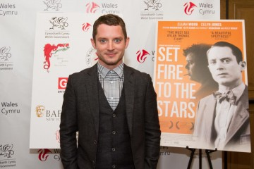 2015.06.10 - BAFTA Cymru Set Fire to the Stars Premiere + Q & A featuring Elijah Wood, Celyn Jones, Andy Goddard, Andy Evans, AJ Riach and moderated by Blaine Graboyes