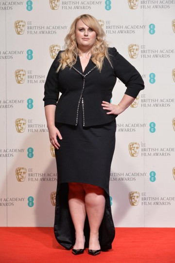 Presenter of the Supporting Actor award: Rebel Wilson