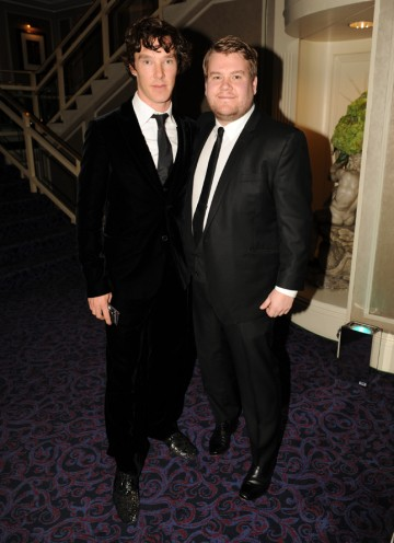 The nominated Sherlock actor and the Gavin & Stacey star, who'll present the Special Award to Peter Bennett-Jones. (Pic: BAFTA/Richard Kendal)