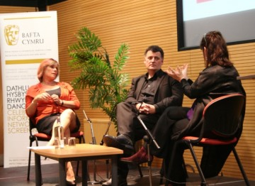 On 9 September 2010 Steven Moffat & Sue Vertue joined BAFTA for a live on-stage interview as part of the Kaleidoscopic Adaptations Festival.
