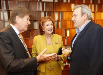 John Madejski, Cilla Black and Nick Fiveash