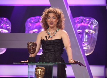 Alex Kingston announces the nominees.