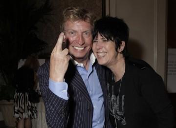 Nigel Lythgoe wishes the best of luck to Diane Warren
