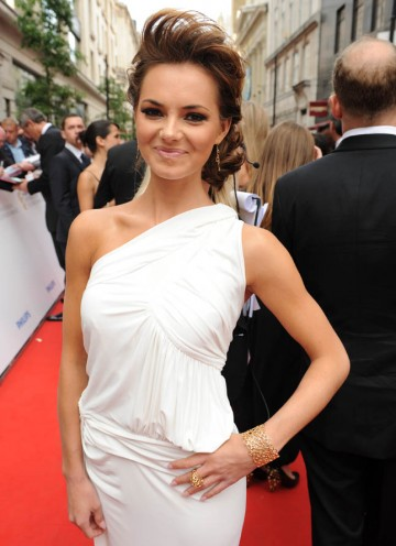 EastEnders star Kara Tointon poses outside the London Palladium (BAFTA/Richard Kendal).
