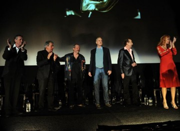 The surviving members of the Monty Python team received the Academy's Special Award in New York on 15 October 2009 (© BAFTA)