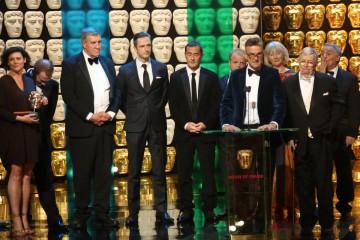 Marvellous Production Team accept the award for Single Drama