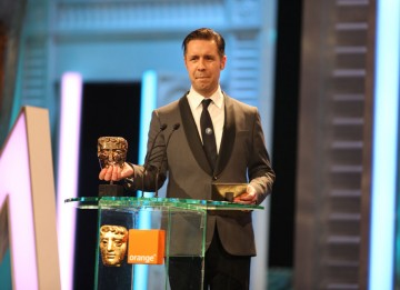 """I won the BAFTA for my short film [Dog Altogether] three years ago and it spurred me on to complete my first film [Tyrannosaur], so the importance of these awards is not to be underestimated."" Paddy Considine (Pic: BAFTA/Stephen Butler)"
