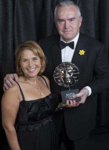 Lorraine Heggessey & Huw Edwards