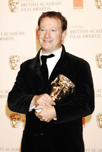 Simon Beaufoy was one of the many Slumdog Millionaire winners, taking home the award for Best Adapted Screenplay (BAFTA/ Richard Kendal).