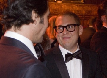 Jonah Hill with Paul Rudd