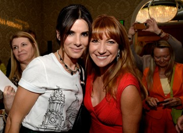 Sandra Bullock and Jane Seymour at the BAFTA LA 2014 Awards Season Tea Party.