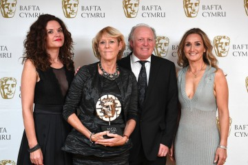 BAFTA Cymru Awards, Press Room, Cardiff, Wales, UK - 02 Oct 2016