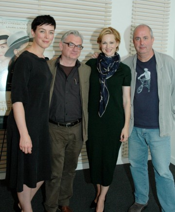 Olivia Williams, Writer Richard Nelson, Laura Linney and Director Roger Michell