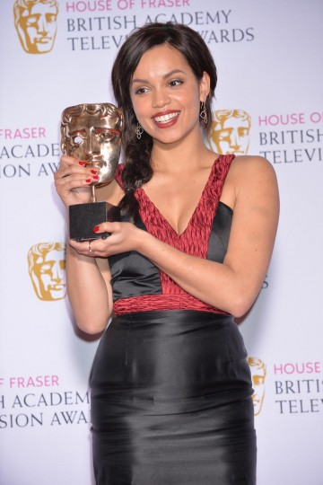 The BAFTA for Leading Actress in 2015 was presented by Christopher Eccleston to Georgina Campbell for her performance in Murdered By My Boyfriend.