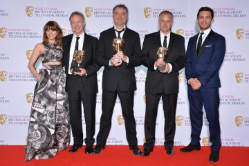 The BAFTA for Comedy and Comedy Entertainment Programme in 2015 was presented by Ophelia Lovibond and Jonathan Bailey to The Graham Norton Show