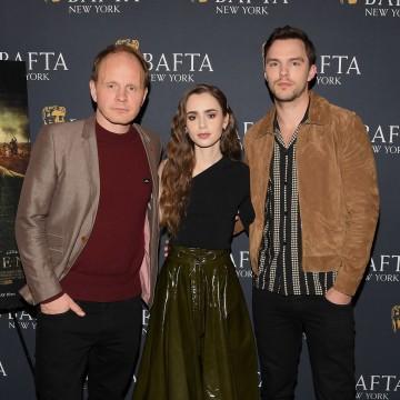 Dome Karukoski, Lily Collins and Nicholas Hoult